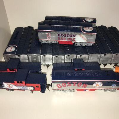 Boston Red Sox HO Scale  Train Sets