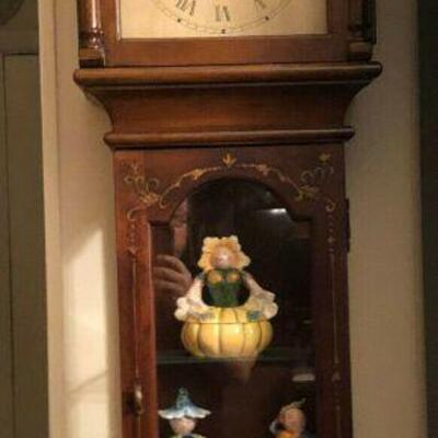 https://www.ebay.com/itm/124447851051	WL4010: Wood Wall Hanging Clock Glass Cabinet Estate Sale Pickup		Buy-it-Now	 $20.00