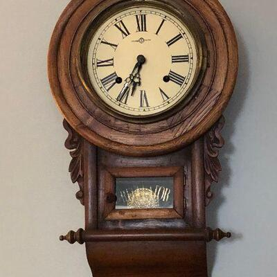 https://www.ebay.com/itm/114364151313	LX0031: Vintage Regulator Wall Mounted Clock Local Pickup 		Buy-it-Now	 $95.00