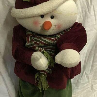 https://www.ebay.com/itm/124474258761	WL7059 XL Plush Statue of Snowman Pickup Only	 $35.00 	OBO