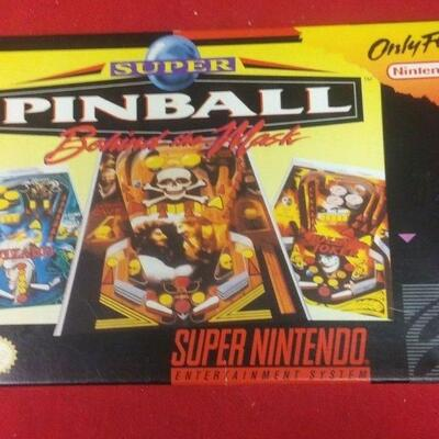 https://www.ebay.com/itm/114544840757	GN3060 SUPER NINTENDO ENTERTAINMENT SYSTEM GAME SUPER PINBALL IN BOX 		 Buy-IT-Now 	 $20.00