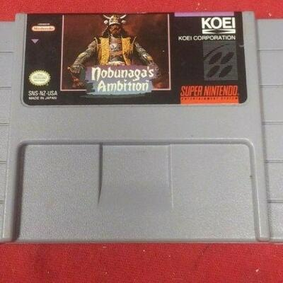 https://www.ebay.com/itm/114550833893	GN3083 SUPER NINTENDO ENTERTAINMENT SYSTEM GAME CARTRIGE NOBUNAGA'S AMBITIO 		 Buy-IT-Now 	 $19.99