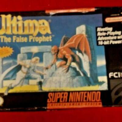 https://www.ebay.com/itm/124460944067	GN3058 SUPER NINTENDO ENTERTAINMENT SYSTEM GAME ULTIMA THE FALSE PROPHET 		 Buy-IT-Now 	 $20.00
