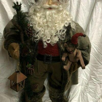 https://www.ebay.com/itm/124474288927	WL7053 XL 3' Plush Statue of St Nick / Santa Pickup Only	100	OBO