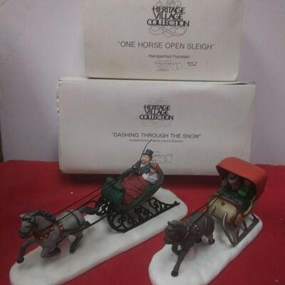 https://www.ebay.com/itm/124461069350	GN3104 LOT OF TWO DEPARTMENT 56 CERAMIC FIGURINES HERITAGE VILLAGE SERIES IN BOX		 Auction