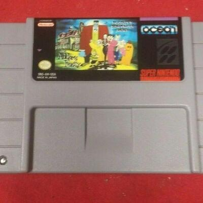 https://www.ebay.com/itm/124466105008	GN3080 SUPER NINTENDO ENTERTAINMENT SYSTEM GAME CARTRIGE THE ADDAMS FAMILY 		 Buy-IT-Now 	 $19.99