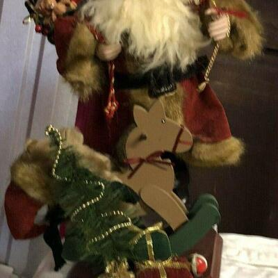 https://www.ebay.com/itm/114561861640	WL7056 Plush Statue of St Nick / Santa W/ Toys Pickup Only	30	OBO