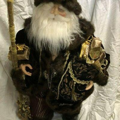 https://www.ebay.com/itm/114561865522	WL7054 XL 3' Plush Statue of St Nick / Santa Pickup Only	100	OBO