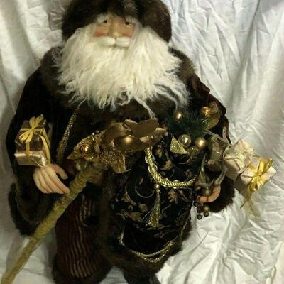 https://www.ebay.com/itm/124474277063	WL7057 XL 3' Plush Statue of St Nick / Santa Pickup Only	100	OBO