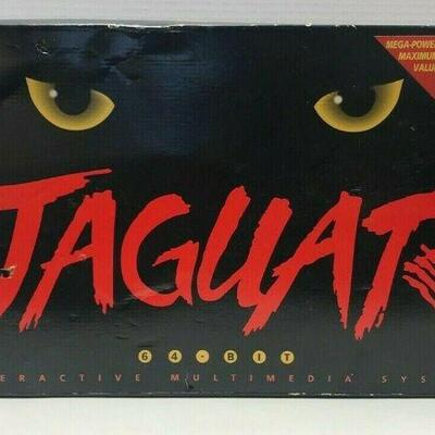 https://www.ebay.com/itm/114524951284	RX134 VINTAGE ATARI JAGUAR GAME SYSTEM WITH 1 GAME AND JOYSTICK, TESTED WORKS!		 Buy-it-Now...
