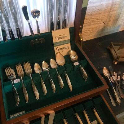 Community Silverplate Pieces
