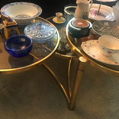 Mid Century 3 Layer Circular Coffee Table