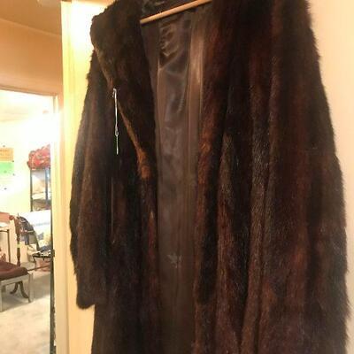 Several Mink Coats