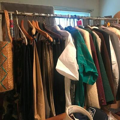 Clothes scarves and more