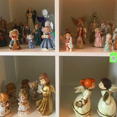 Huge Christmas Angel Collection