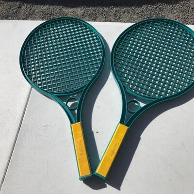 Beach rackets $1 each