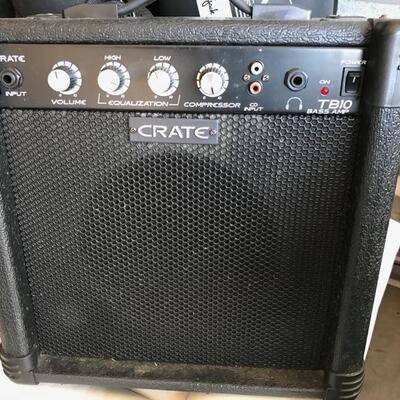 Crate TB10 base amplifier $50