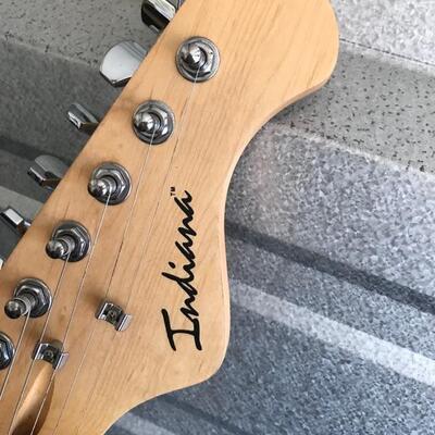 Indiana electric guitar $180