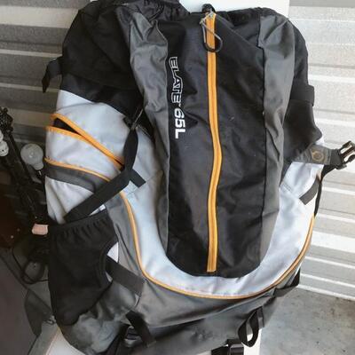 Elate 65L backpack $46