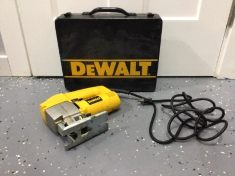 Dewalt Orbital Jig Saw