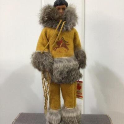 Canadian Indian male doll