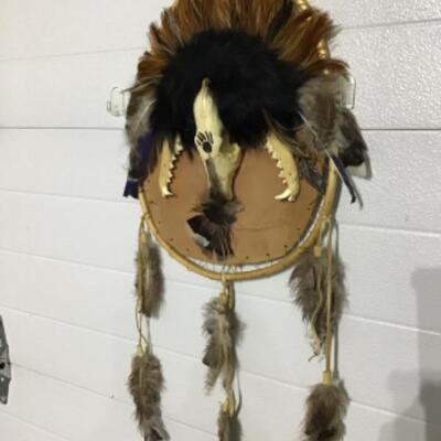 Skull mask and shield