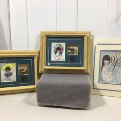 DeGrazia framed art and print