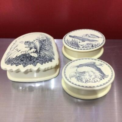 Etched decorative boxes