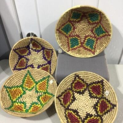 Collection of Mexican baskets