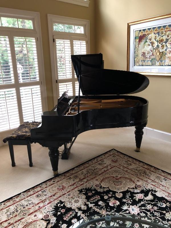 Chickering grand piano in excellent condition