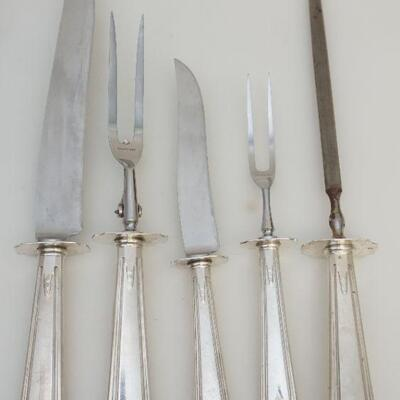 Large 3 Piece Carving Set with Stainless Blades -Knife 14