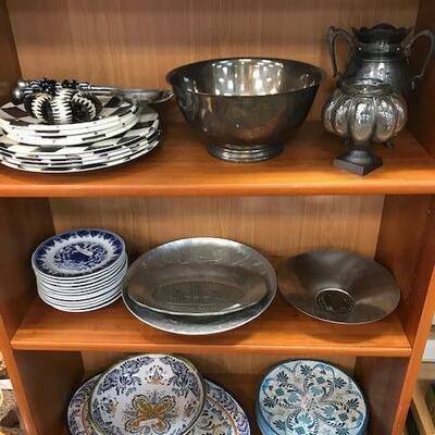 Dish sets.