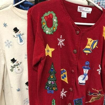 et read for Ugly Sweater contest!