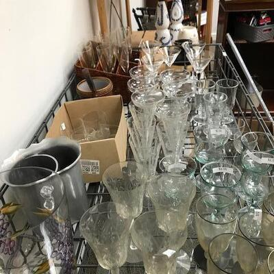 Extra glassware for the holidays!