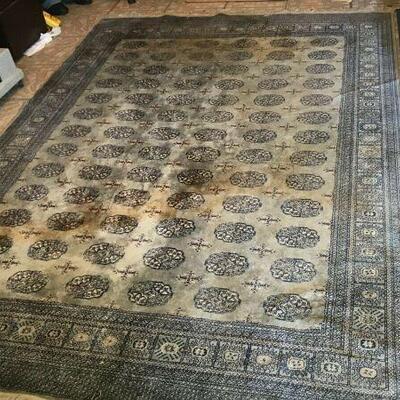 https://www.ebay.com/itm/124474033864FL0007 Genuine Hand Woven Wool Oriental Area Rug Pickup Only 78