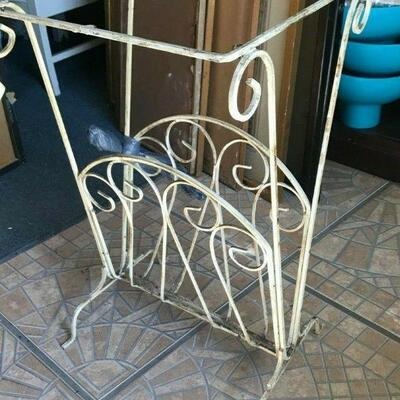 https://www.ebay.com/itm/114561578266FL0005 Mid Century Modern METAL WIRE TABLE STAND NO TOP Pickup Only Buy-it-Now  $45.00