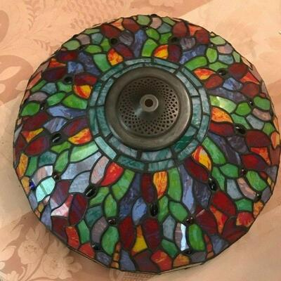 FL0013 TIFFANY STAINED GLASS DRAGONFLY FLOOR LAMP NEW IN OPEN BOX Pickup Only