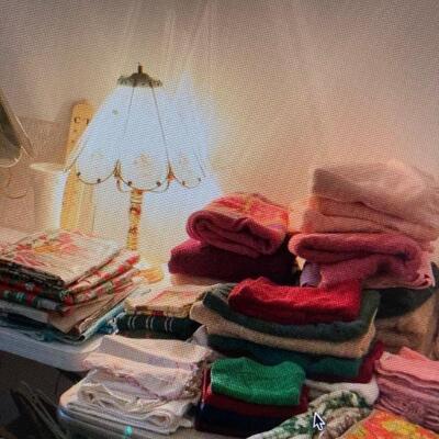 Lamps & linens