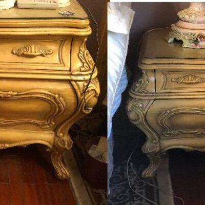 https://www.ebay.com/itm/124486715330FL4001 Pair of French Provincial Nightstand End Tables Estate Sale Pickup $399.99  OBO