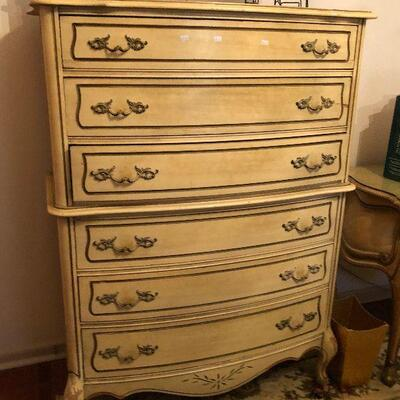 https://www.ebay.com/itm/124486732418FL4011 French Provincial Tall Chest of Drawers Estate Sale Pickup $595.00  OBO