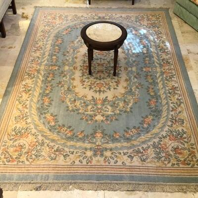 Area rugs of various sizes