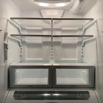"""Viking """"D3"""" 36 Inch Counter Depth French Door Refrigerator with Air Purification"""