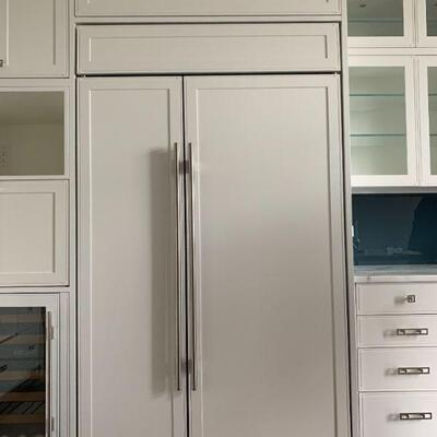 Sub-Zero 48″ Classic Side-by-Side Refrigerator and Freezer, Panel Ready, Model # BI 48S/O
