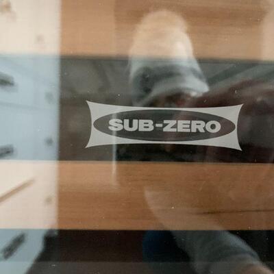 Sub-Zero Undercounter Wine Cooler Refrigerator