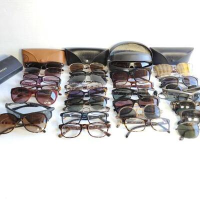1060	 Approx 46 Sunglasses And Eye Glasses Includes Gucci, Burberry, Diff, Shein, Rayban, Emilio Pucci, Foster Grant, Warby Parker, And More