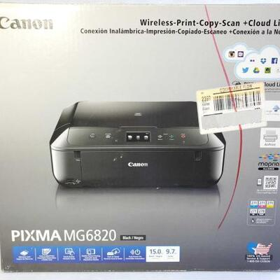 1040	 Canon Pixma MG6820 Printer Canon Pixma MG6820 Printer