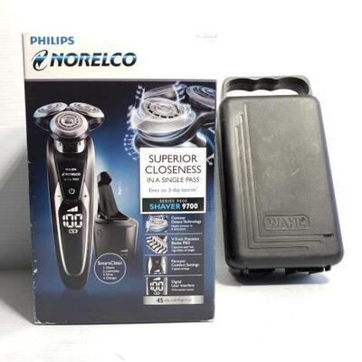 1046	 Philips Norelco Shaver 9700 And Wahl Shaver Philips Norelco Shaver 9700 And Wahl Shaver