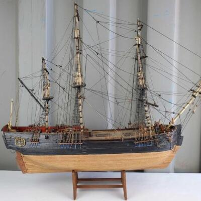 #2010 • Model Ship By Ron Pippin