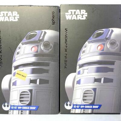 1090	 Two Sphero Star Wars R2-D2 App-Enabled Droids Two Sphero Star Wars R2-D2 App-Enabled Droids OS17-044291.24