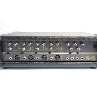 1052	 Squier 4 Channel Power Mixer Squier 4 Channel Power Mixer OS19-044736.31